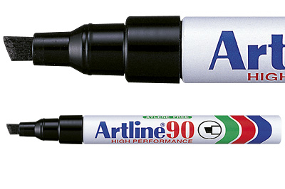 MARKER ARTLINE EK90 ALU  SORT